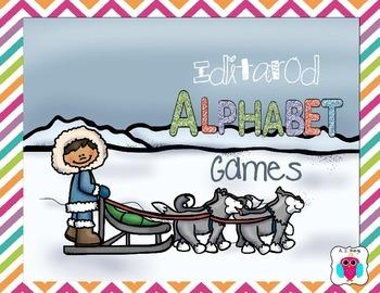 Iditarod Alphabet Games