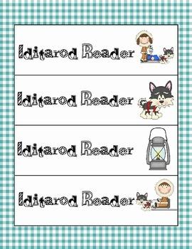 Iditarod Book marks