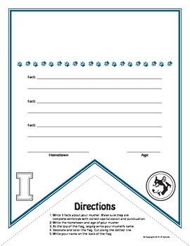 Iditarod Coloring Pages & Activities