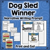 Dog Sled, Stone Fox Writing Activity: Narrative Prompt with All Materials Needed