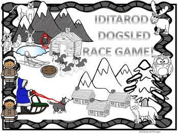 """Iditarod """"Odd and Even Years Game Boards"""" (Dogsled Race)"""