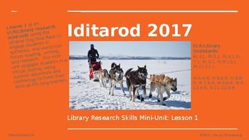 Iditarod Library Research Skills Mini-Unit: Lesson 1