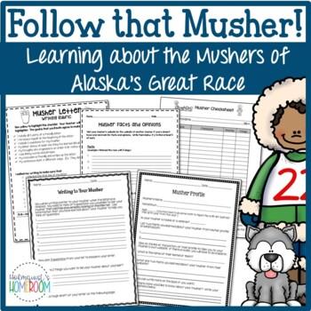 Sled Dog Musher Activities -- Follow That Musher!