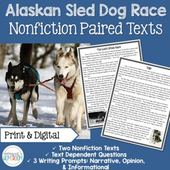 Sled Dog Racing Nonfiction Paired Texts