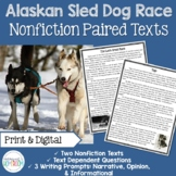 Sled Dog Racing Nonfiction Paired Texts   Digital Paired Texts