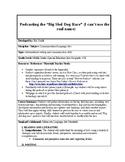 """""""Big sled dog race"""" Podcasting Unit"""