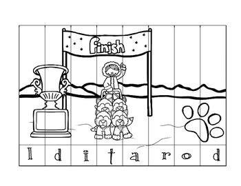 Iditarod Puzzle Set