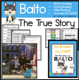 Balto-The Bravest Dog Ever Book Study