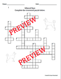 Iditarod Race Trivia Crossword Puzzle ~ March ~ Vocabulary
