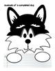 Iditarod Sled Dog Race Writing and Craftivity