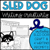Sled Dog Race Writing and Craftivity
