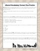 Iditarod Vocabulary: Context Clue Practice Page