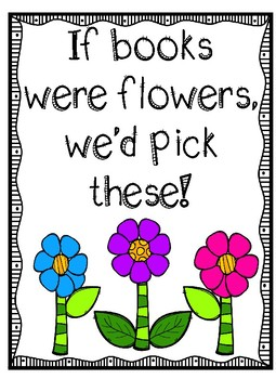 If Books Were Flowers, We'd Pick These!