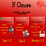 If-Clause ***Bundle*** (Three worksheets about If Clause t