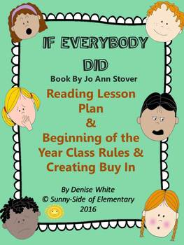 Rules/Expectations Begin the Year with Read Aloud:  If Eve