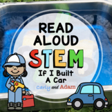 If I Built A Car Read Aloud Back to School STEM Challenge
