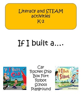 If I Built a....by Chris VanDusen (STEAM activities)