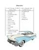 If I Built a Car by Chris Van Dusen Literature Activities