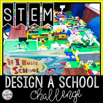 If I Built a School STEM Activity with a Literacy Connection