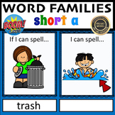If I Can Spell-Short a Word Families: BOOM CARDS