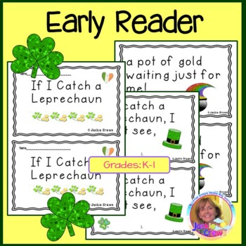If I Catch a Leprechaun Easy Reader with Craftivity and Writing