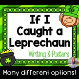 If I Caught a Leprechaun Writing Paper & Posters!