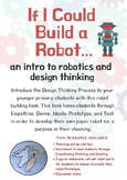 STEM Design Thinking Paper Robot