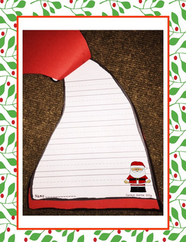 If I Could Wear Santa's Hat  Writing and Craft Activity