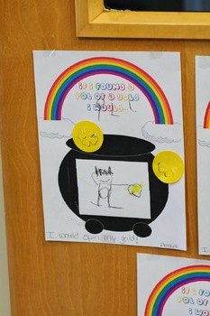 If I Found A Pot of Gold- Writing or Illustration Activity