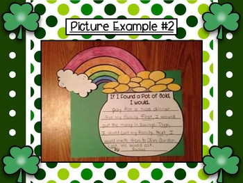 If I Found a Pot of Gold- Writing Craftivity