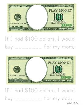 If I Had $100 Dollars