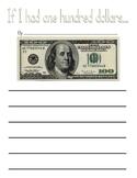 If I Had $100 (One Hundred Dollars)  - Hundreds Day