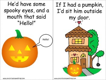 If I Had A Pumpkin Printable Book