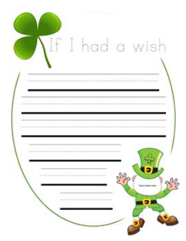 """If I Had A Wish""  Class Book"