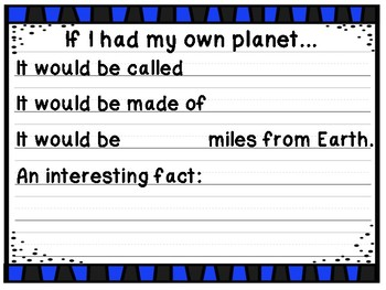 If I Had My Own Planet
