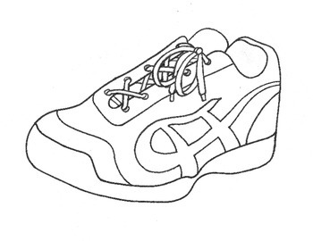If I Had a Pair of Magic Tennis Shoes Craft and Writing Template