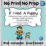 No Print Speech Therapy Expanding Sentences and Making Inferences Activity