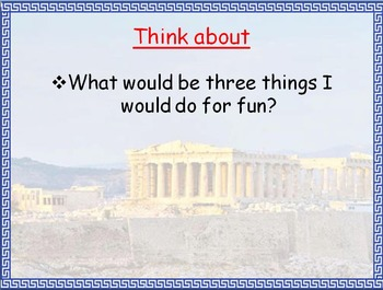 If I Lived in Ancient Greece Foldable with PowerPoint