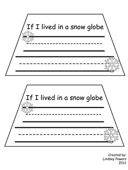 If I Lived in a Snow Globe project