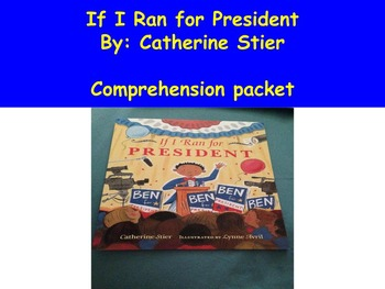 If I Ran for President: Book Study, Election, General and