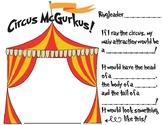 If I Ran the Circus Worksheet