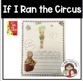 If I Ran the Circus Writing Prompt