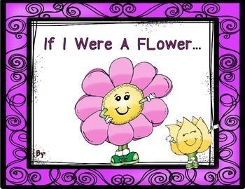If I Were A Flower Book