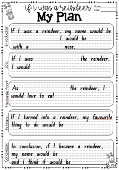If I Was A Reindeer Imaginative Writing & Craft