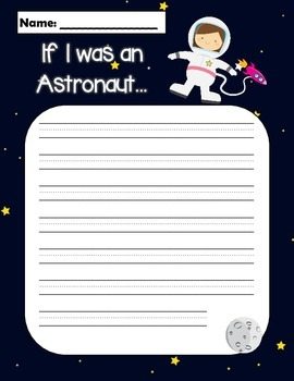 if i were an astronaut writing
