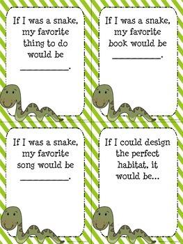 Animals Creative Writing - If I Was...