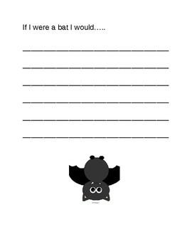 If I Were A Bat I would....
