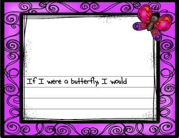 If I Were A Butterfly