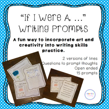If I Were A... Creative Writing Prompt