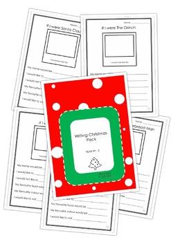 If I Were A...Elf, Reindeer, Santa, Grinch Christmas Writing